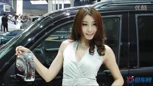 2011广州车展 猎豹CS6魅力女模芬芳怡人