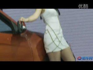 2011广州车展 广汽传祺白衣清纯靓模