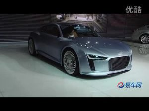 2011广州车展 奥迪E-tron 概念车