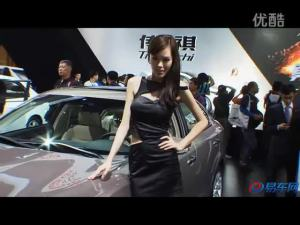 2011广州车展 广汽传祺模特气质脱俗