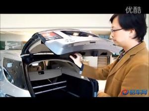 现场演示2012款萨博9-5遥控门操作