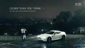 绅士也暴躁 阿斯顿马丁V8海外广告