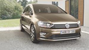 新紧凑级两厢车 高尔夫Sportsvan概念车