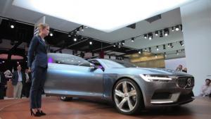 2013法兰克福车展 全新款沃尔沃Coupe