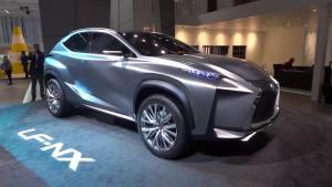 2013法兰克福车展 雷克萨斯LF-NX概念车