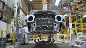 宾利涂装工厂 汽车涂装全过程拍摄