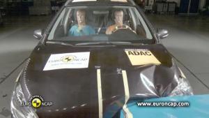 2013新款铃木SX4 欧洲碰撞测试