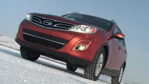 广汽传祺首款SUV GS5挑战冰雪极地
