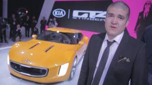 2014北美车展 起亚推GT4毒刺概念车发布
