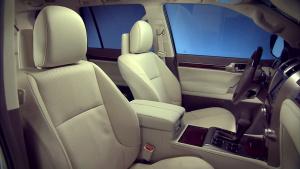 雷克萨斯GX460 车内配备精细展示