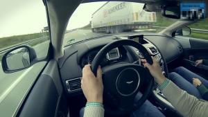 阿斯顿马丁DB9 Volante驱动力与声量现