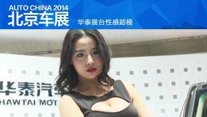 2014北京车展 华泰展台性感超模