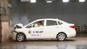 C-NCAP碰撞测试 海马M3旗舰型荣获五星