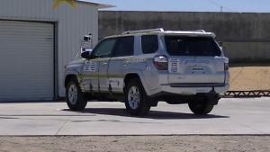 2014款丰田4Runner 侧面碰撞测试