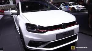 2014巴黎车展 2015款大众Polo GTI实拍