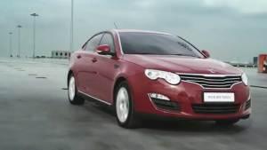 新款荣威550 搭载1.8T涡轮增压发动机