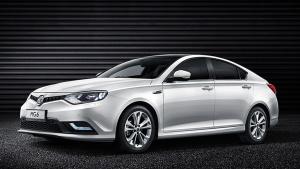 2014广州车展 全新MG6再续英伦经典