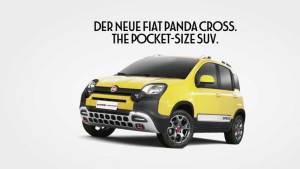 野性难驯 新菲亚特Panda Cross微型SUV