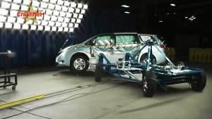 2015款丰田塞纳 NHTSA侧面碰撞测试
