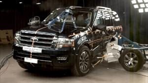 2015款福特征服者 NHTSA侧面碰撞测试