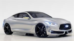 英菲尼迪Q60概念车 造型颇具动感