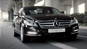 奔驰CLS级运动轿车 舒适与功能完美结合