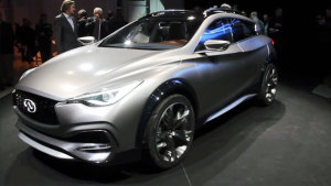 2015日内瓦车展 英菲尼迪QX30概念车