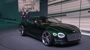 2015日内瓦车展 宾利EXP 10 Speed 6