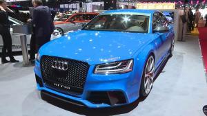2015日内瓦车展 MTM改装奥迪S8展示