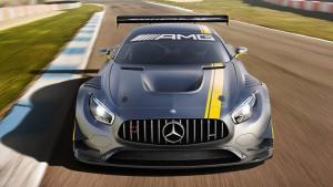 奔驰AMG GT3赛车 搭载6.2升V8发动机