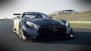 奔驰AMG GT3  加装空气动力学套件