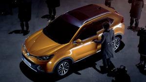 2015款名爵锐腾 FSF超高强度车身结构
