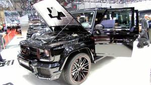改装越野车 巴博斯G800全车豪华实拍