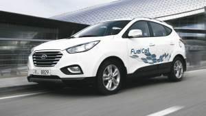现代ix35氢燃料电池车 打造高效能源