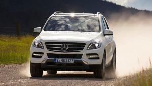 奔驰M级豪华SUV 搭多路况适应系统