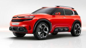 2015上海车展 雪铁龙Aircross概念车
