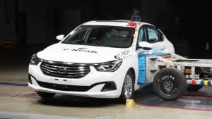 C-NCAP碰撞测试 广汽传祺GA6荣获五星
