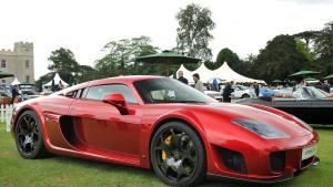 英式跑车Noble M600 百公里加速仅3秒