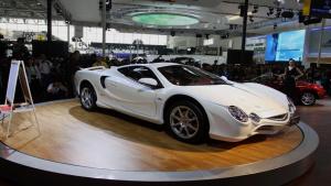 日式超跑光冈大蛇 最高车速达240km