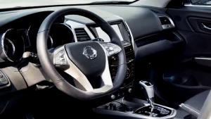 双龙小型SUV蒂维拉 配备多功能方向盘