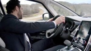 新款雷诺Espace 多模式驾驶系统演示