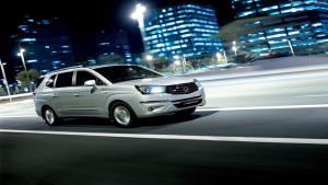 双龙7座MPV车型路帝 售价21.98万起