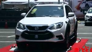 2015款比亚迪唐混动SUV 四驱挑战赛