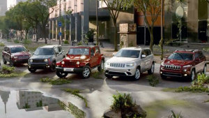 Jeep家族六车集体出动 上演精彩追逐战
