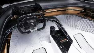 标致Fractal概念车 i-Cockpit设计理念