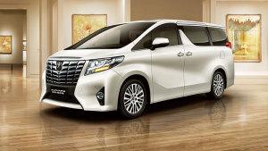 2015款丰田埃尔法 采用3.5L发动机