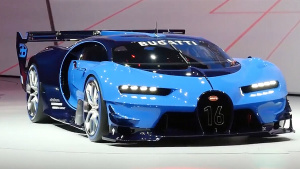 2015法兰克福车展 布加迪概念跑车亮相