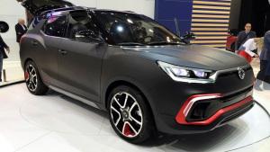 2015法兰克福车展 双龙XLV-Air概念车