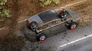新款福特S-MAX 配备智能四驱系统