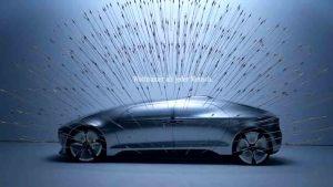 奔驰F 015自动驾驶概念车 设计理念解读